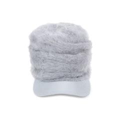 Wool Shirred Cap