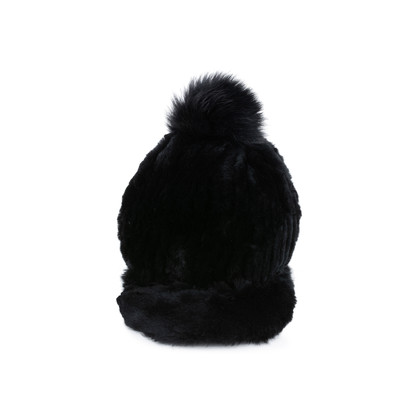 Authentic Pre Owned Jocelyn Fur Pompom Cap (PSS-200-01549)