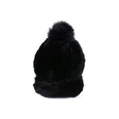 Fur Pompom Cap