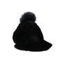 Authentic Pre Owned Jocelyn Fur Pompom Cap (PSS-200-01549) - Thumbnail 3