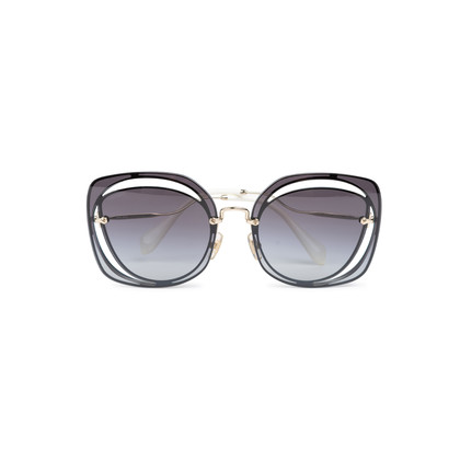 Authentic Pre Owned Miu Miu Cut Out Square Sunglasses (PSS-200-01579)