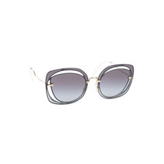 c97d232c27ec Miu Miu. Cut Out Square Sunglasses. SGD 290. Rasoir Cutoff Sunglasses