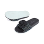 Authentic Second Hand Chanel Tweed Camellia Pool Slides (PSS-200-01555) - Thumbnail 1