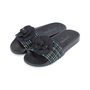 Authentic Second Hand Chanel Tweed Camellia Pool Slides (PSS-200-01555) - Thumbnail 3