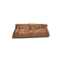 Authentic Pre Owned Chloé Python Frame Clutch (PSS-200-01569) - Thumbnail 2