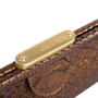 Authentic Pre Owned Chloé Python Frame Clutch (PSS-200-01569) - Thumbnail 4