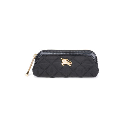 Authentic Pre Owned Burberry Quilted Nylon Coin Purse (PSS-200-01576)
