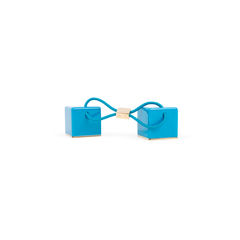 Louis vuitton turquoise hair cubes 1?1544079567