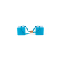 Authentic Second Hand Louis Vuitton Turquoise Hair Cubes (PSS-200-01571) - Thumbnail 2