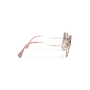 Authentic Pre Owned Miu Miu Brown/Pink Cut Out Square Sunglasses (PSS-200-01580) - Thumbnail 2