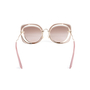 Authentic Pre Owned Miu Miu Brown/Pink Cut Out Square Sunglasses (PSS-200-01580) - Thumbnail 3