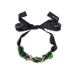 Chainlink Ribbon Necklace