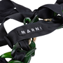 Authentic Pre Owned Marni Chainlink Ribbon Necklace (PSS-200-01572) - Thumbnail 3