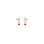 Authentic Pre Owned Chanel I Love CC Double Earrings (PSS-328-00014) - Thumbnail 0