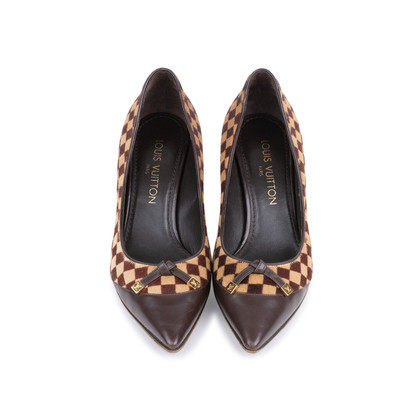 Authentic Pre Owned Louis Vuitton Damier Sauvage Pumps (PSS-587-00001)