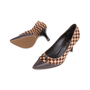 Authentic Pre Owned Louis Vuitton Damier Sauvage Pumps (PSS-587-00001) - Thumbnail 1