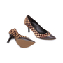 Authentic Pre Owned Louis Vuitton Damier Sauvage Pumps (PSS-587-00001) - Thumbnail 2