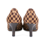 Authentic Pre Owned Louis Vuitton Damier Sauvage Pumps (PSS-587-00001) - Thumbnail 4