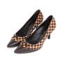 Authentic Pre Owned Louis Vuitton Damier Sauvage Pumps (PSS-587-00001) - Thumbnail 5