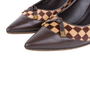 Authentic Pre Owned Louis Vuitton Damier Sauvage Pumps (PSS-587-00001) - Thumbnail 6