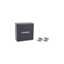 Authentic Second Hand Chanel Logo Stud Earrings (PSS-577-00001) - Thumbnail 4