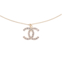 Authentic Second Hand Chanel Crystal Pendant Necklace (PSS-577-00004) - Thumbnail 0