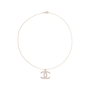 Authentic Second Hand Chanel Crystal Pendant Necklace (PSS-577-00004) - Thumbnail 1