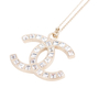Authentic Second Hand Chanel Crystal Pendant Necklace (PSS-577-00004) - Thumbnail 2