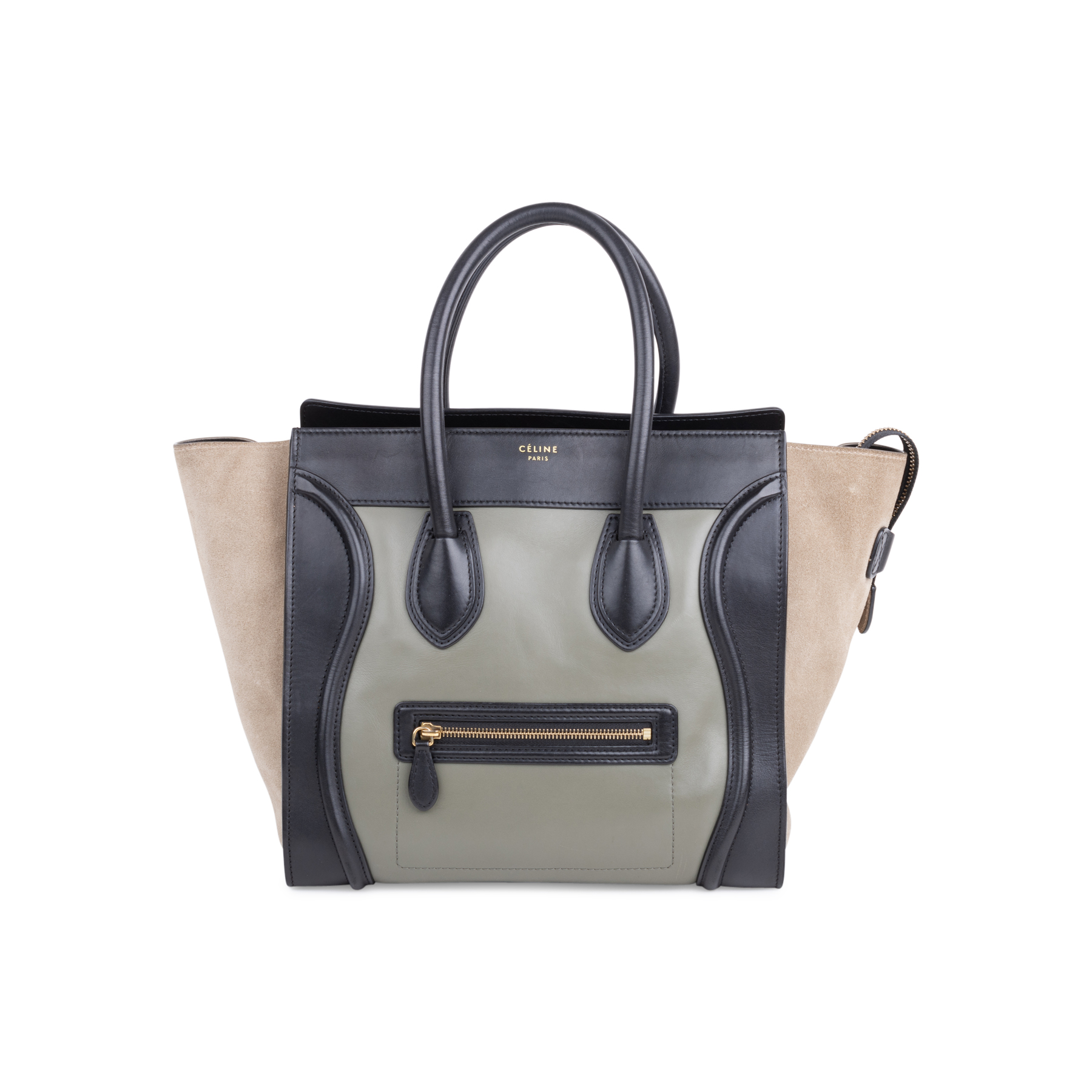 f99035747a45 Authentic Second Hand Céline Mini Luggage Tote (PSS-577-00005) | THE FIFTH  COLLECTION