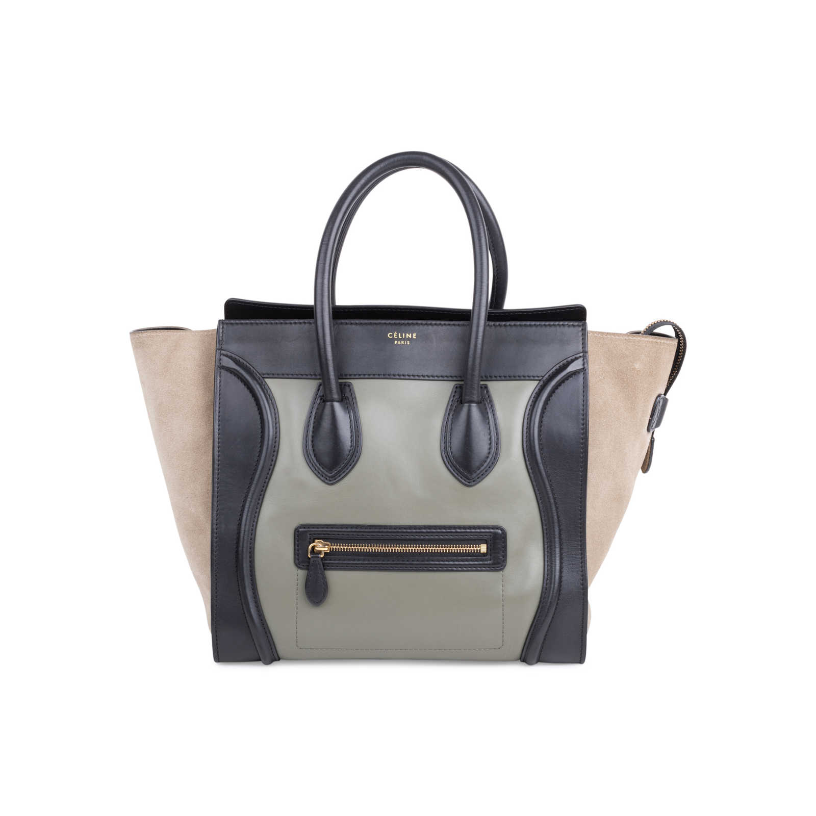 939d07cab325 Authentic Second Hand Céline Mini Luggage Tote (PSS-577-00005) - Thumbnail  ...