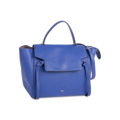 Celine belt tote bag blue 2?1544207675