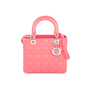 Authentic Second Hand Christian Dior Lady Dior Lambskin Bag (PSS-436-00040) - Thumbnail 0