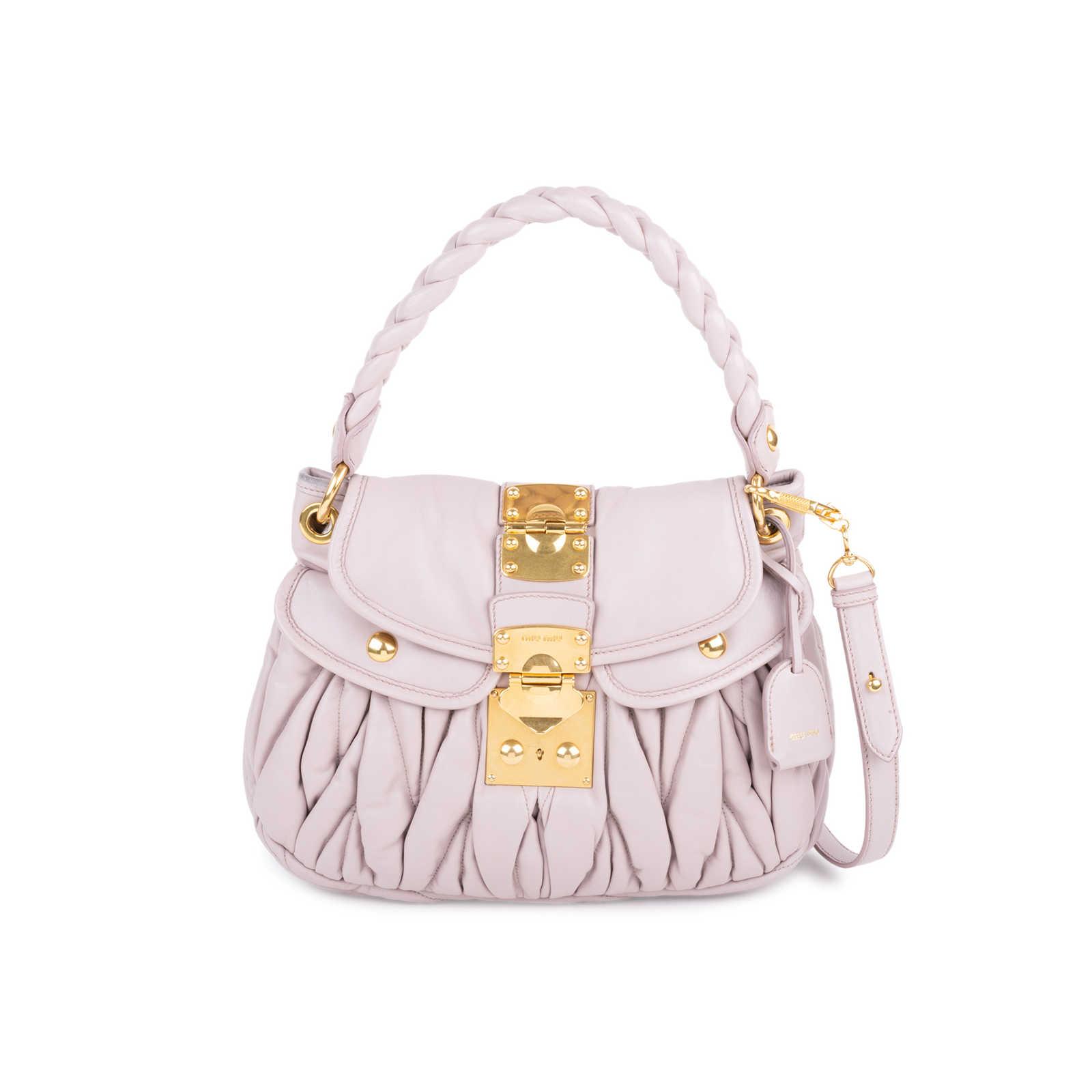 7d21dc97d87a Authentic Second Hand Miu Miu Small Matelasse Coffer Bag (PSS-436-00042) ...