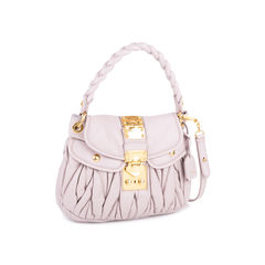 Miu miu small matelasse coffer bag 2?1544210040