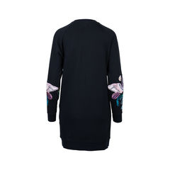 Marcelo burlon embroidered bird sweatshirt 2?1544414472