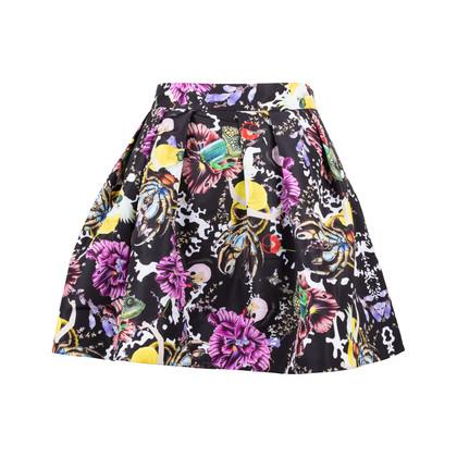 Authentic Second Hand Mary Katrantzou Wildlife Printed Skirt (PSS-200-01565)
