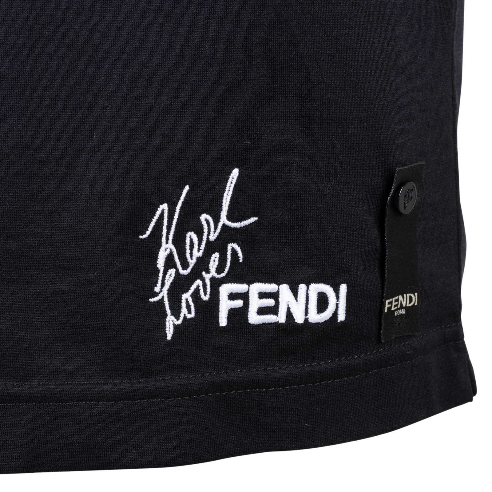 8ddefb6b Authentic Second Hand Fendi Karl Loves Fendi T-Shirt (PSS-200-01566 ...
