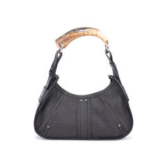 Denim Mombasa Horn Bag