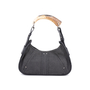 Authentic Pre Owned Yves Saint Laurent Denim Mombasa Horn Bag (PSS-591-00006) - Thumbnail 2