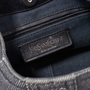Authentic Pre Owned Yves Saint Laurent Denim Mombasa Horn Bag (PSS-591-00006) - Thumbnail 7