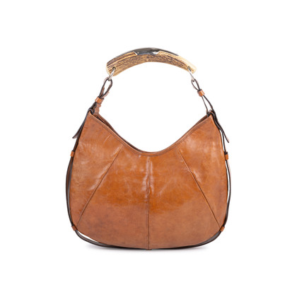 Authentic Pre Owned Yves Saint Laurent Mombasa Horn Bag (PSS-591-00009)
