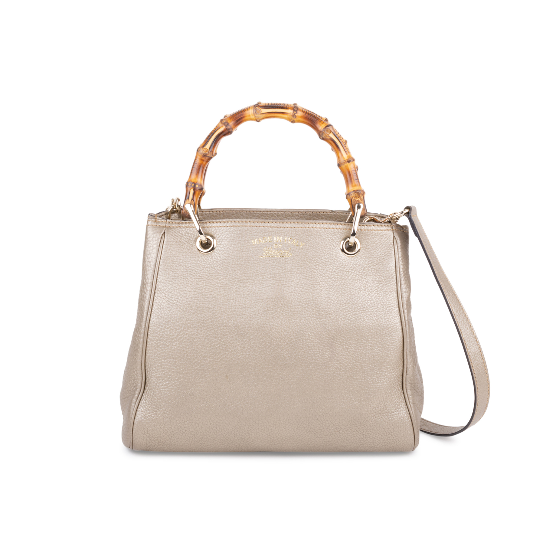 cd78d5c99 Authentic Second Hand Gucci Small Bamboo Shopper Bag (PSS-591-00011) - THE  FIFTH COLLECTION
