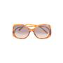 Authentic Second Hand Chloé Tortoiseshell Square Framed Sunglasses (PSS-572-00002) - Thumbnail 0