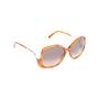 Authentic Second Hand Chloé Tortoiseshell Square Framed Sunglasses (PSS-572-00002) - Thumbnail 1