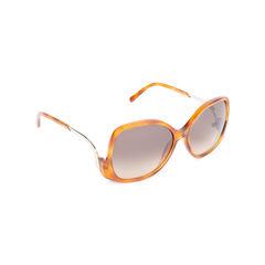 Chloe tortoiseshell square framed sunglasses 2?1544421627
