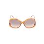Authentic Second Hand Chloé Tortoiseshell Square Framed Sunglasses (PSS-572-00002) - Thumbnail 4