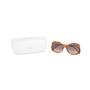Authentic Second Hand Chloé Tortoiseshell Square Framed Sunglasses (PSS-572-00002) - Thumbnail 7
