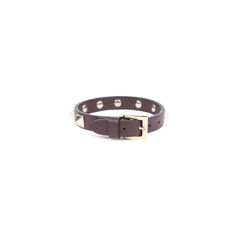 Valentino rockstud bracelet brown 2?1544427616