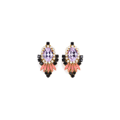 Authentic Second Hand Erickson Beamon Pretty in Punk Statement Earrings (PSS-369-00054)