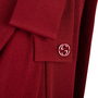 Authentic Pre Owned Gucci Bow Draped Jersey Dress (PSS-369-00058) - Thumbnail 2